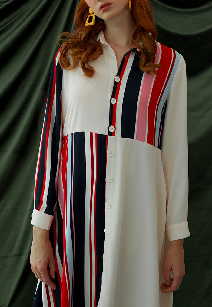 buttoned down dress