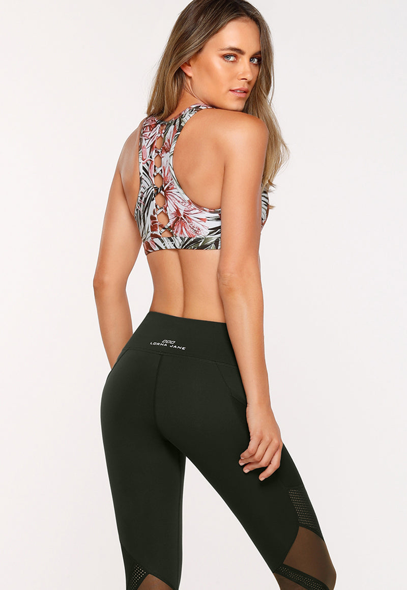 Lorna Jane Botanical Run Sports Bra