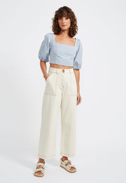 Staple the Label Sasha Cropped Jeans