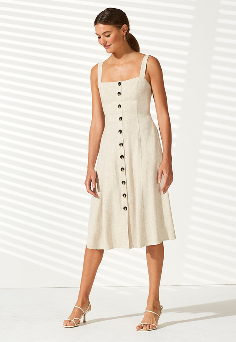 Staple the Label Dunes Midi Sundress