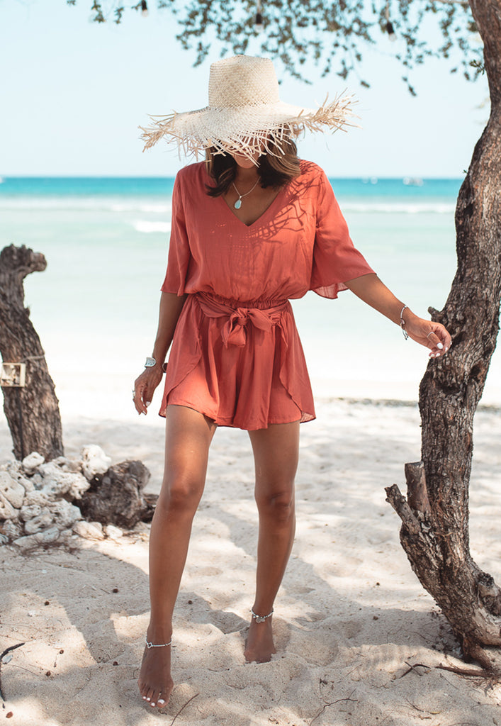 Elke Wrap Playsuit