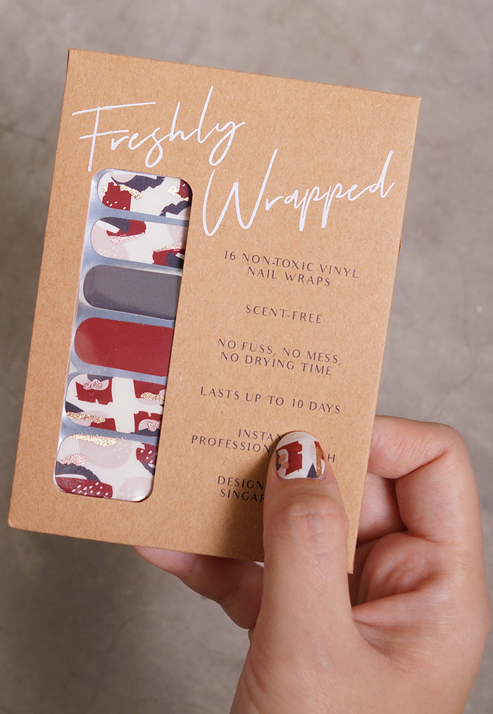 Freshly Wrapped Nail Wrap - Felicity