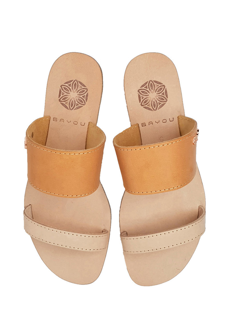 Bayou Gisele Brown Sandals