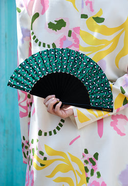 Sista & Co. Mini Fan - Green With Envy