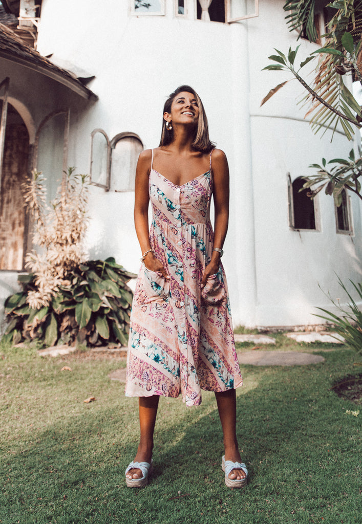Hacienda Cami Midi Dress
