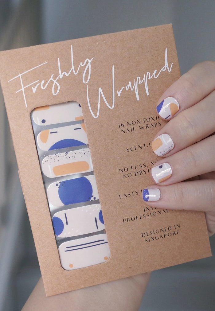 Freshly Wrapped Nail Wrap -  Happy Hour