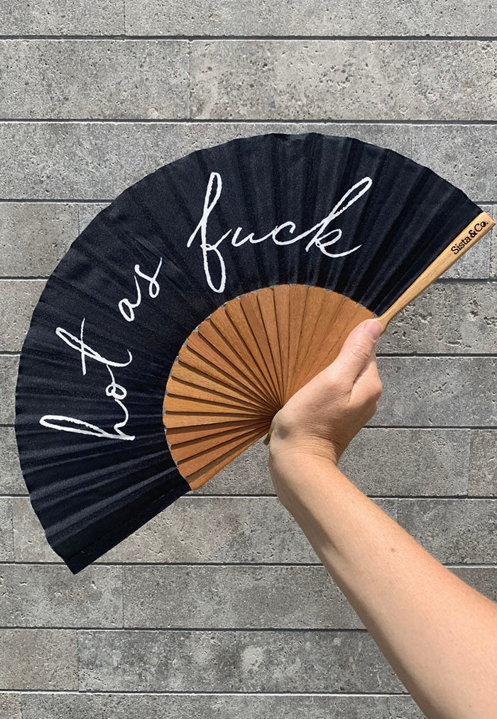 silk fabric hand fan