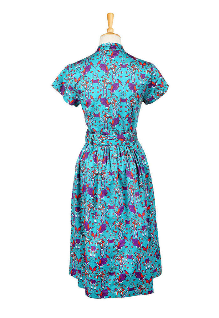 Nala Flair Cheongsam - Parrot Green