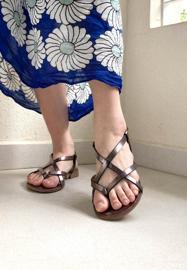 Bayou Isla Graphite Sandals