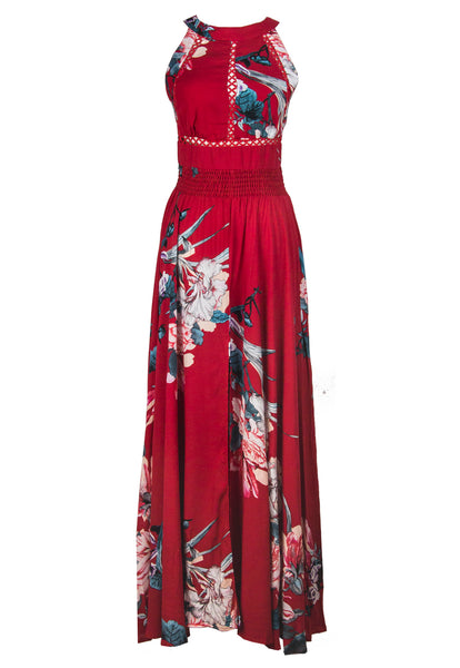 Valentina Halter Maxi Dress