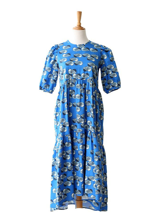 Nala Jaslena Dress - Nest Blue