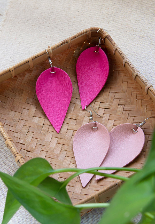 Just Gaya's Leaf Hook Earrings