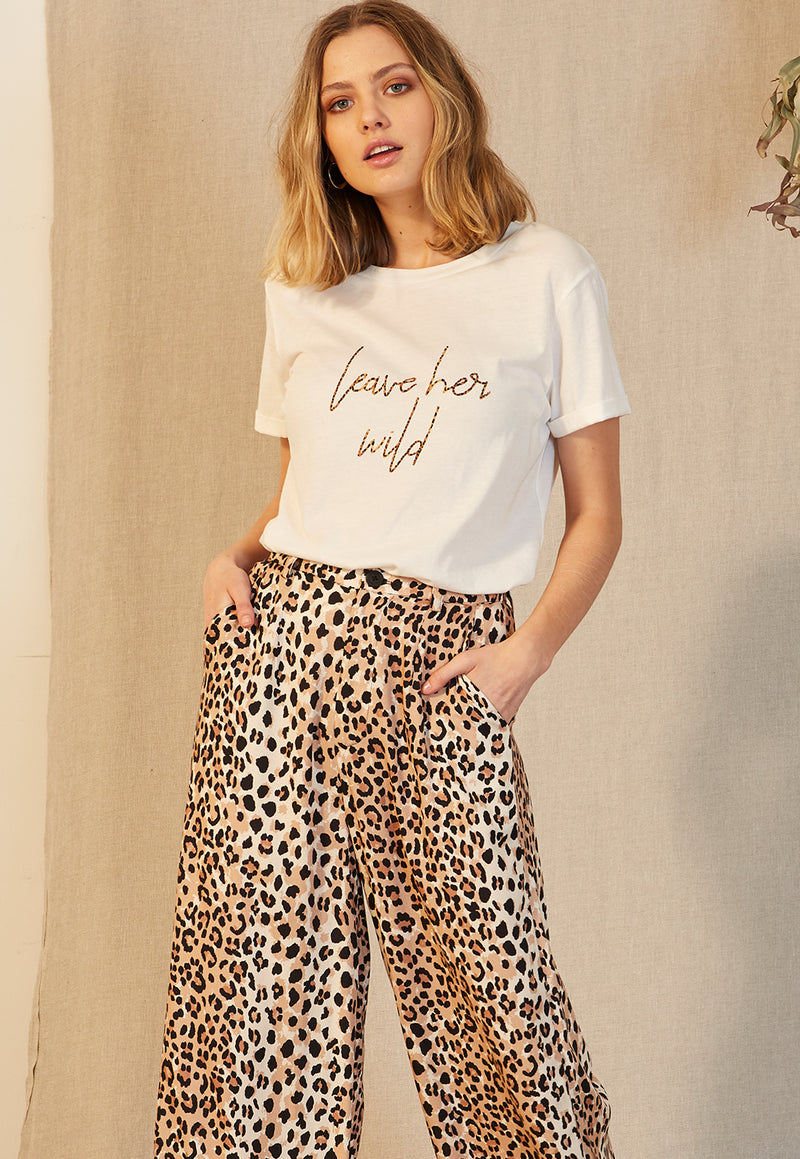 Staple the Label Leave Her Wild Tee