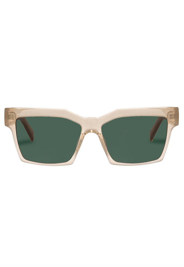 Le Specs Azzurra Sunglasses - Clear Quartz