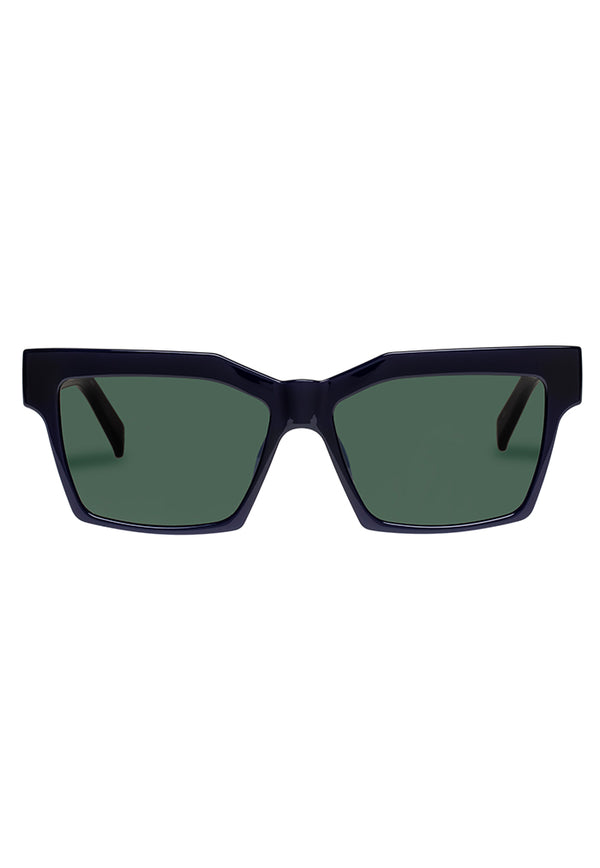 Le Specs Azzurra Sunglasses - Midnight