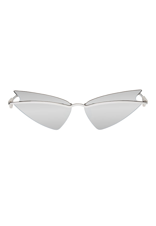 Le Specs SheEO Sunglasses - Silver