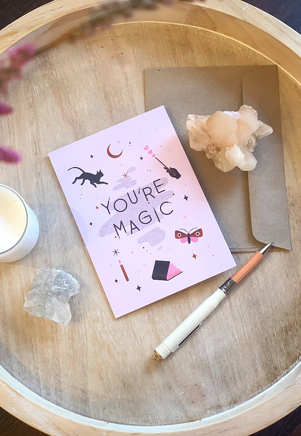 AHD Greeting Card - You're Magic