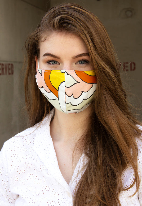 WYLD Reusable Face Mask - Tangerine