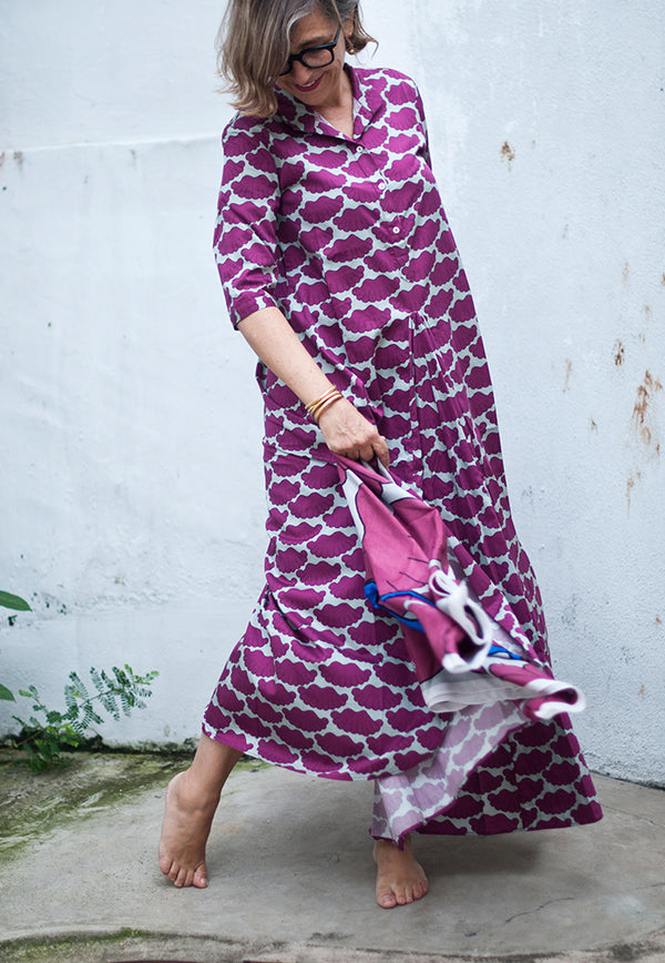 Nala Maxi Shirt Dress - Cinta