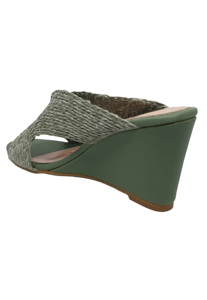 Bayou Maya Green Wedges