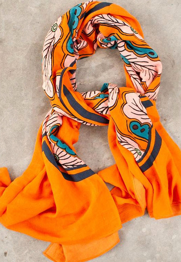 Nala Scarf - Orange Moon