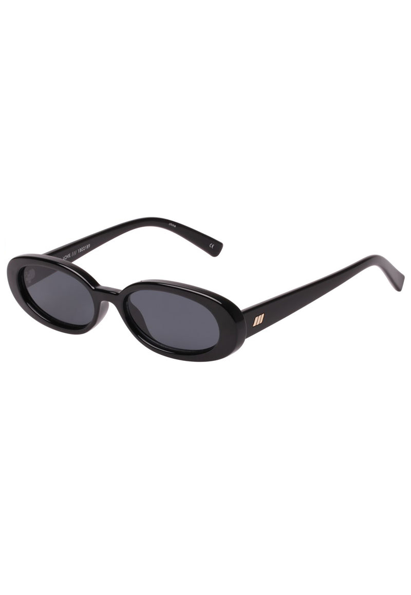 Le Specs Outta Love Sunglasses  - Black