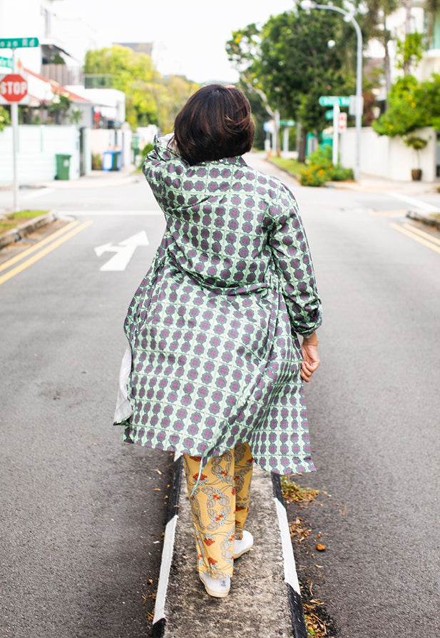 Nala Shirt Dress - Pandan