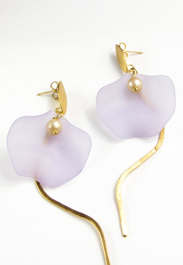 Embrace Jewellery Petal Pearl Earrings