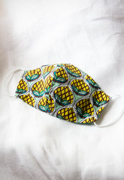 WYLD Reusable Face Mask - Pineapple