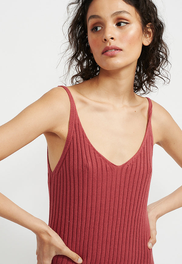 Staple the Label Cresent Knit Tank