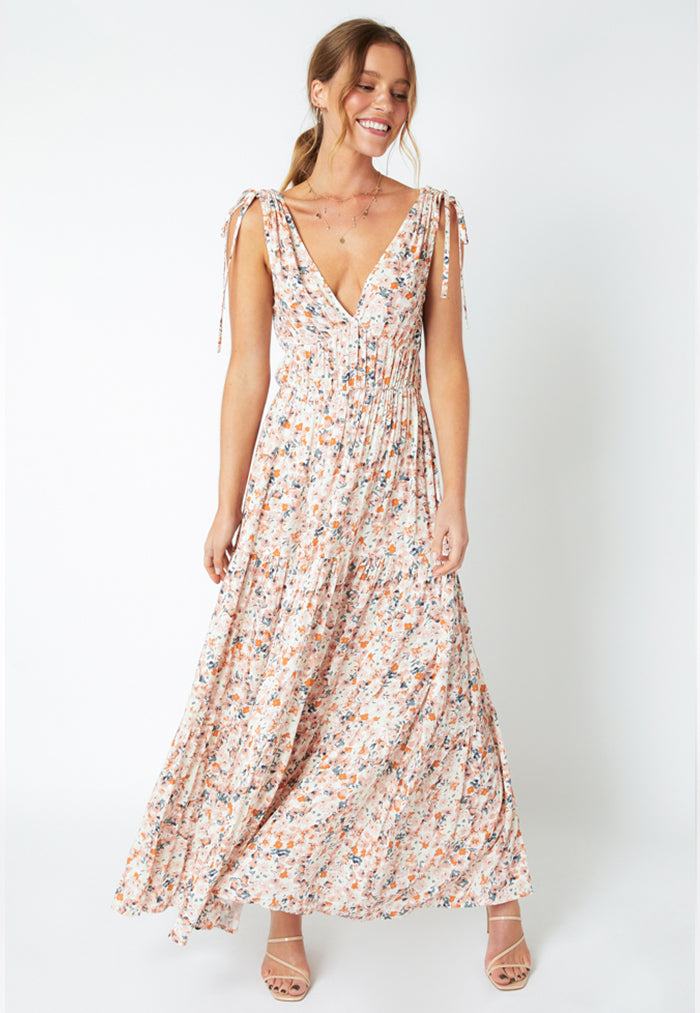 MINKPINK Samaria Sun Tiered Maxi Dress