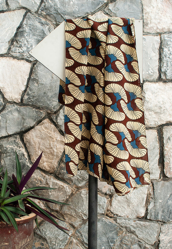 Nala Scarf - Jambu Air Brown