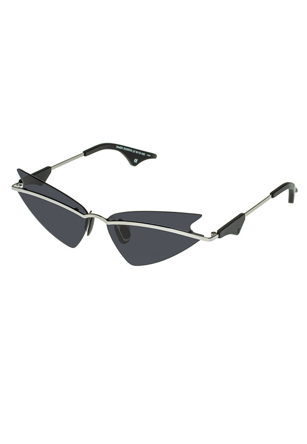 Le Specs SheEO Sunglasses - Dark Silver