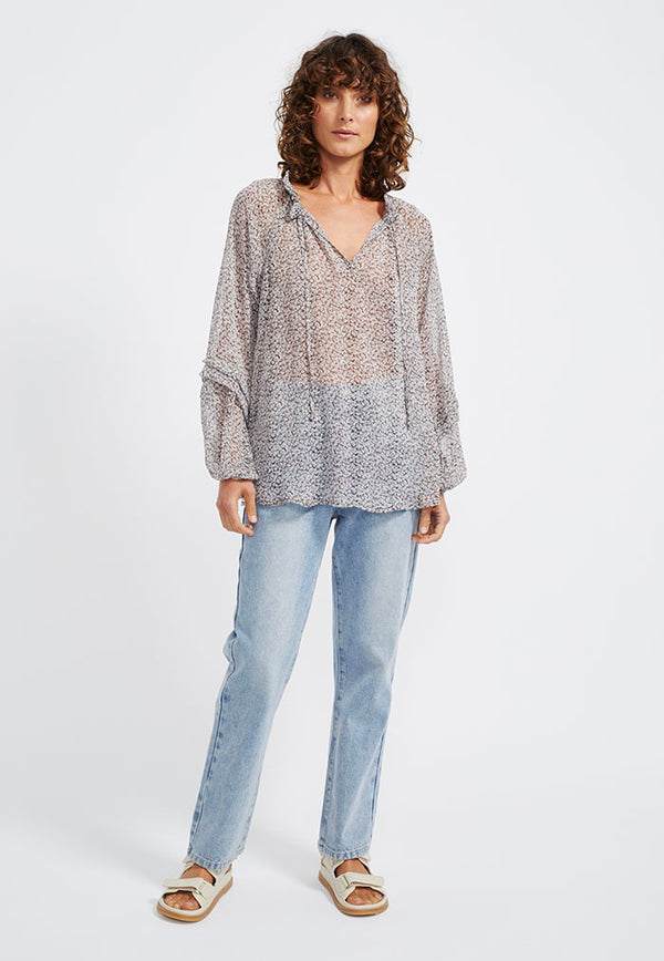 Staple the Label Eden Smock Blouse