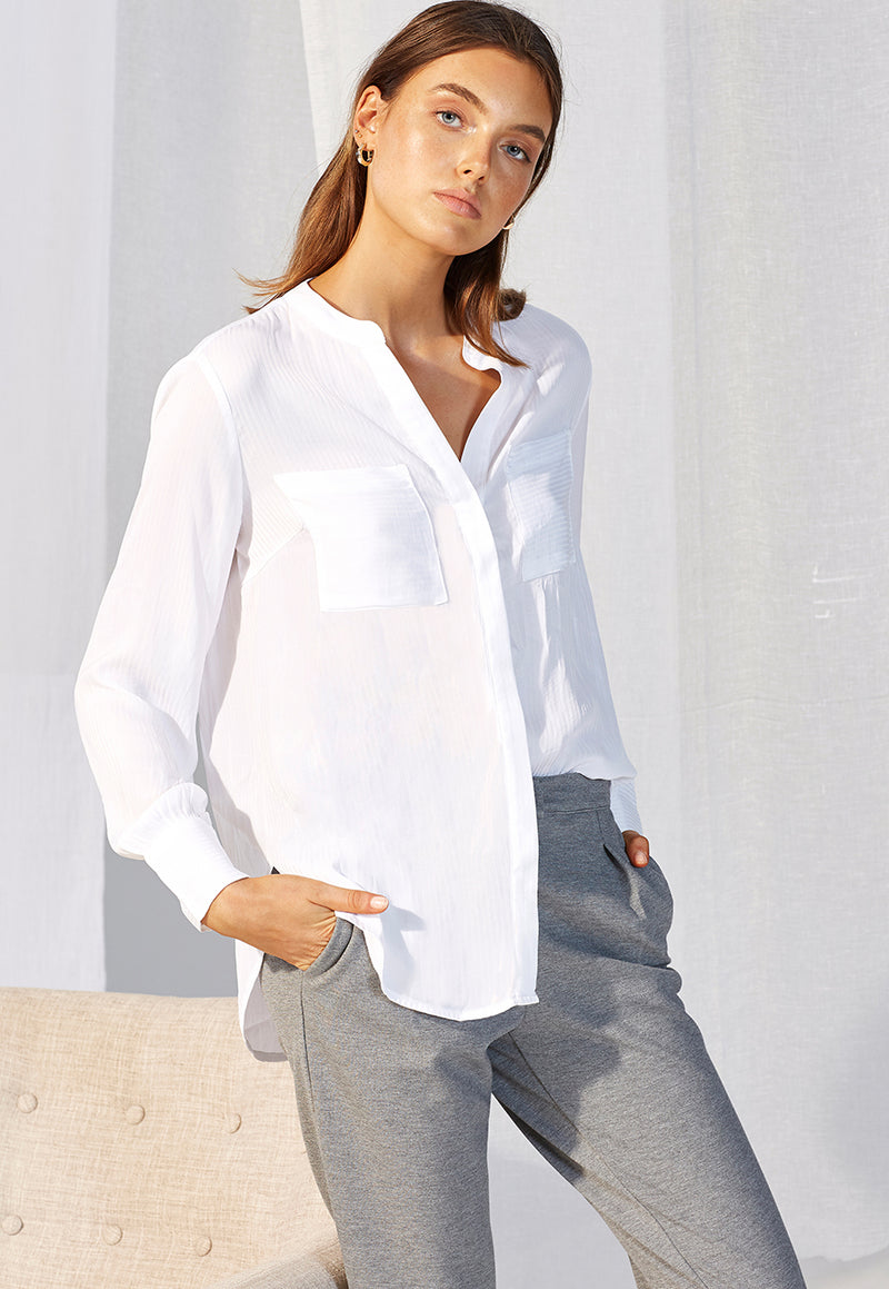 Staple the Label Simplicity Silky Shirt