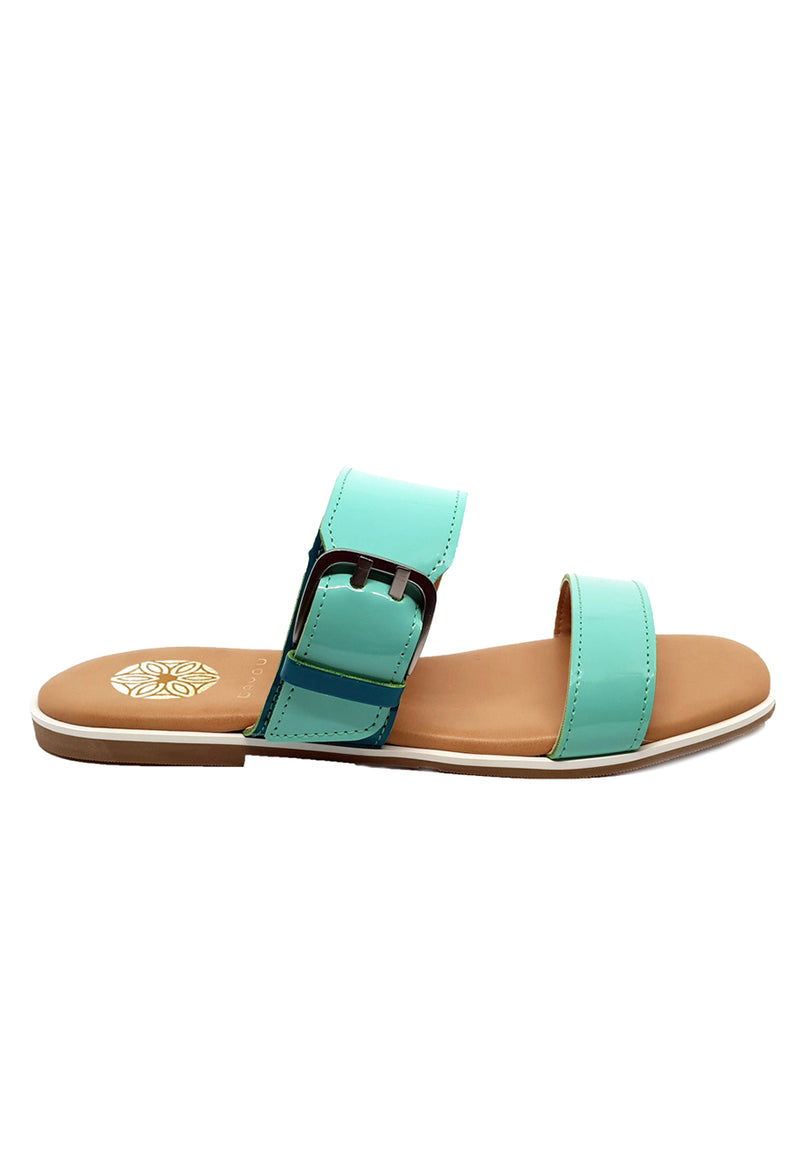 Bayou Sofia Green Sandals