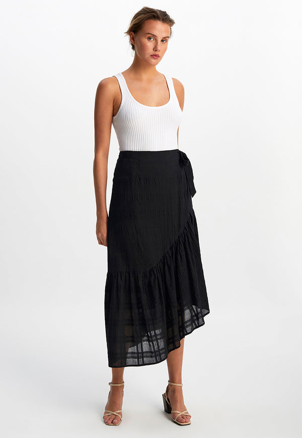 Staple the label midi skirt