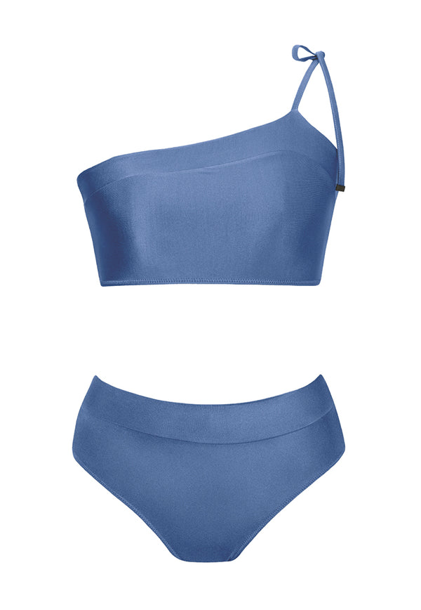 HÁI Retro Sports Bikini - Poppy Blue