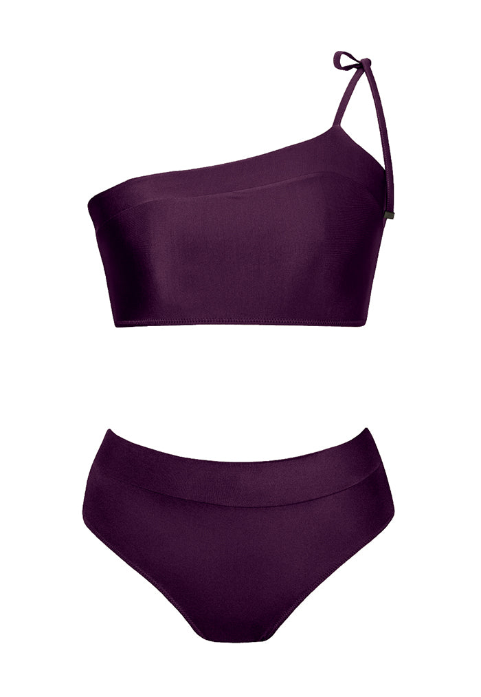 HÁI Retro Sports Bikini - Amethyst Purple
