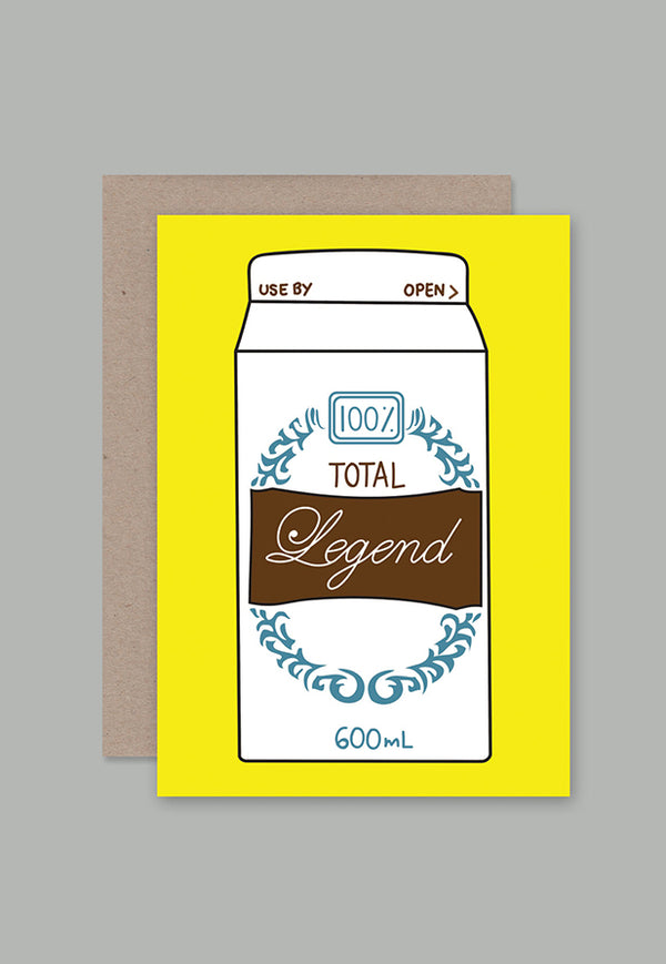 AHD Greeting Card - Total Legend