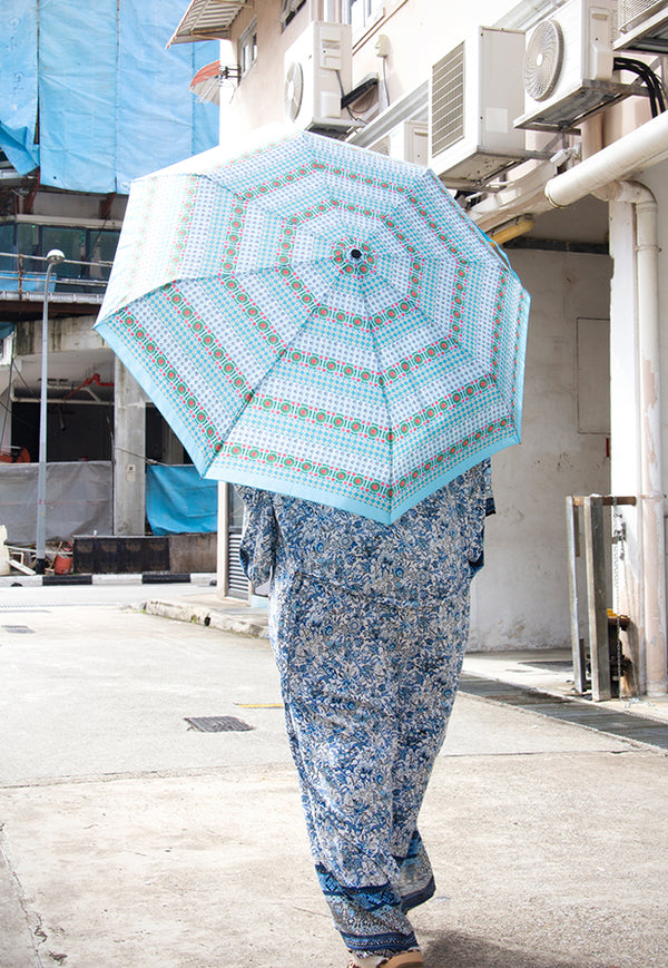 Sandra Macheroux Printed Umbrella - Perfect Peranakan