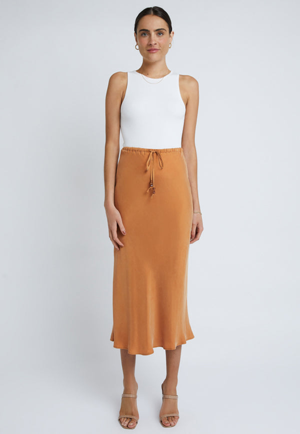 Staple the Label Verona Bias Midi Skirt