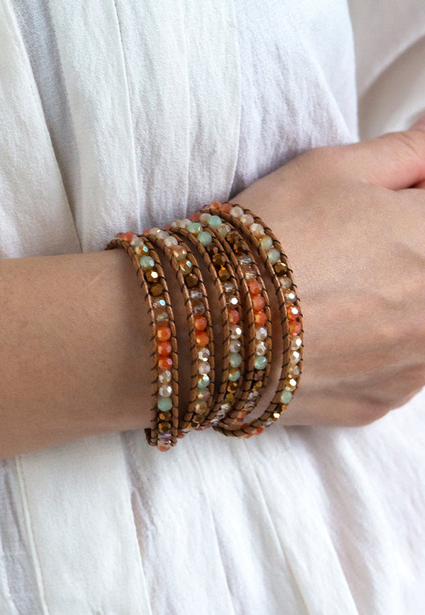 Embrace Jewellery It's A Wrap Bracelet - Marmalade