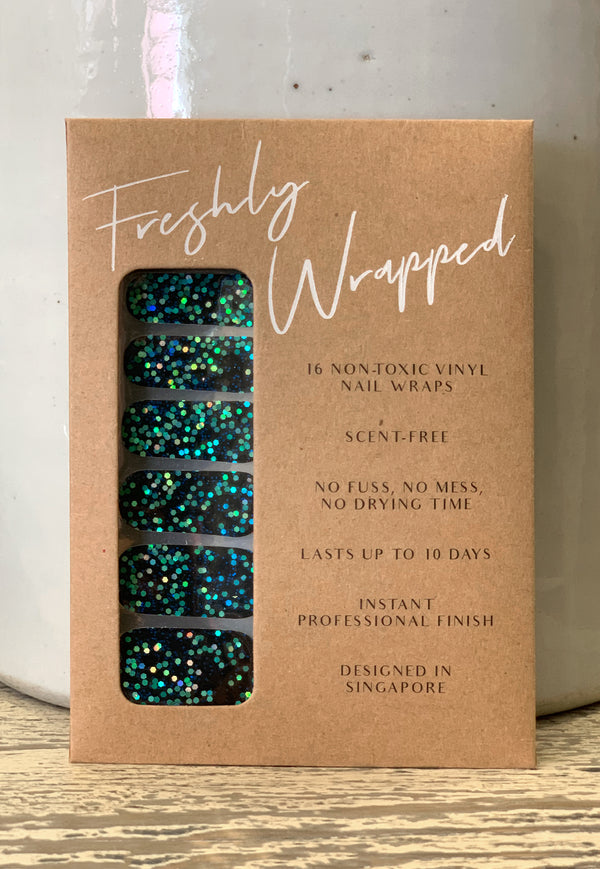 Freshly Wrapped Nail Wrap - You Blue Me Away