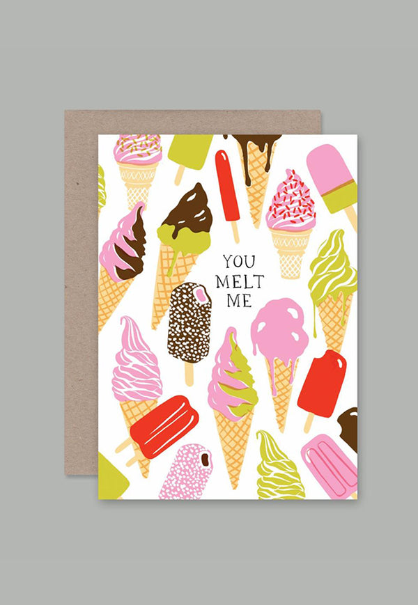AHD Greeting Card - You Melt Me