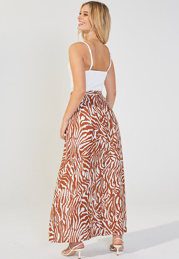MINKPINK Young And Wild Maxi Skirt