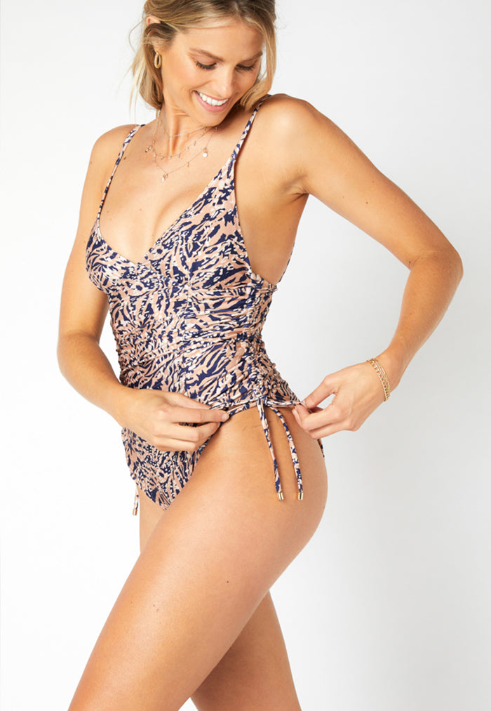 MINKPINK Zephyr Ruched Swimsuit