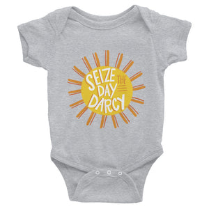 Infant Seize the Day Darcy Onesie
