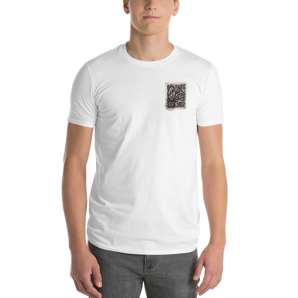 Men's Carpe Diem Gear Stamp (Grey) Short-Sleeve T-Shirt