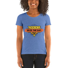 Load image into Gallery viewer, Women's Seize the Day AMRAP Tri-Blend T-Shirt